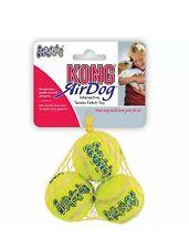 Kong Squeakair Dog Puppy Toy Tennis Balls - Pack of 3 - Small
