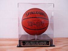 Basketball Case With A Los Angeles Lakers N.B.A. Champions Engraved Nameplate