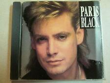 PARIS BLACK S/T SELF TITLED 1990 CANADA IMPORT AOR CD ISBA LABEL RARE HTF OOP