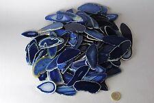 Minerali °°° BELLISSIME FETTE di AGATA BLU-AZZURRO Brasile (Code: OFABA1)