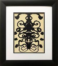 "Andy Warhol ""Rorschach 2"" 1984 CUSTOM FRAMED Pop Art Psychology Psychiatry Test"