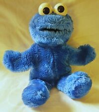 """Vintage Sesame Street Cookie Monster 14"""" Plush Hand Puppet by Applause"""