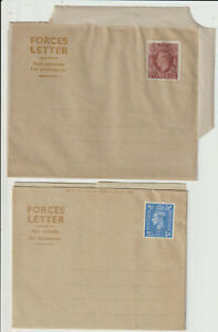 """GVI 2 DIFF. FORMATS OF """" FORCES LETTER """" - MINT"""