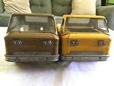 Two Vintage Structo Pressed Steel Chevrolet Corvair Rampside Pickup Toy Trucks