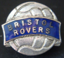 BRISTOL ROVERS FC Vintage badge Maker FIRMIN LONDON Button hole 20mm x 18mm