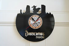 Darkwing DUCK Vinile Record Orologio da parete camera da letto salone ufficio casa Art Club Shop
