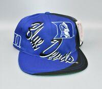 Duke Blue Devils Logo 7 Big Logo Vintage 90's Snapback Cap Hat - NWT