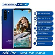 Blackview A80 A80 Pro Smartphone 4G Teléfono Moviles Dual SIM Android 9.0 13MP