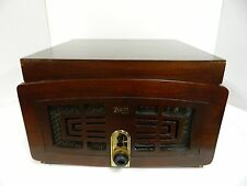 Vintage Zenith Radio/Phono Model 5R085-Z - Includes Records