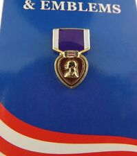 """BRAND NEW Lapel Pin Purple Heart Medal Enamel 7/8"""""""