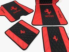 Ferrari California Eco Leather Floor Mats 4pcs