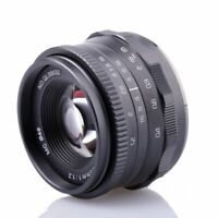 RISESPRAY 35mm F1.2 Manual Lens For Panasonic Olympus Micro 4/3 m4/3 cameras gh1
