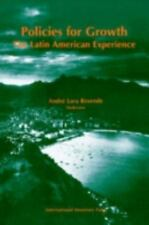 Policies for Growth: The Latin American Experience : Proceedings of a -ExLibrary