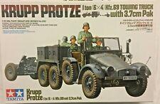 1/35 German Krupp Protze 1ton truck w/ 3,7cm PaK 36 & crew -- Tamiya 35323
