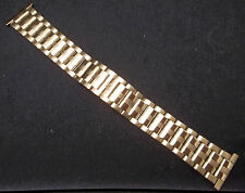 New ROWI Germany 24mm Stainless Steel Bracelet Watch Band Butterfly Clasp $69.95