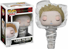 PEPYPLAYS Funko POP! 447 Laura Palmer Wrapped in Plastic - Twin Peaks