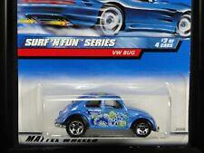 VW BUG, Hot Wheels #1999-962, SURF 'N FUN series 2/4, Metallic Blue, 5SP wheels
