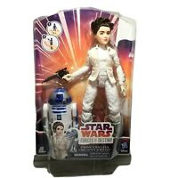 """Star Wars Forces of Destiny 11"""" Princess Leia R2-D2 Action Figure Doll New"""