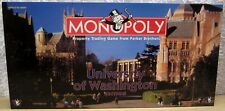 University Of Washington Edition Monopoly Property & Money Board Game +10 Token