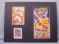 Walt Disney's Dumbo with Timothy the Mouse & the Dumbo Stamp