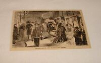 1876 magazine engraving ~ DEPARTURE OF EX-KING and QUEEN, Spain