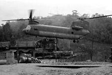 Vietnam 1970 - Chinook Doing An Ammo Drop - Chu Lai Area