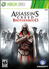 Assassin's Creed: Brotherhood (Microsoft Xbox 360, 2010) VERY GOOD