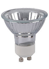 GU10 Halogen Light Bulb 50W UV Stop Warm White Dimmable Pack Of 5 CE Approved
