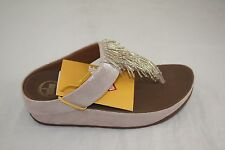 NEW WMNS FITFLOP CHA CHA  SILVER THONG SANDAL MSRP $110.00