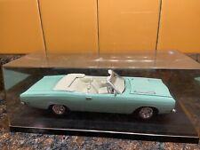 Mint Green 1969 Plymouth Gtx Convertible 1:25 Model Kit Adult Pro Built Display