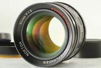 【NEAR MINT+++ w/ Hood】 Voigtlander Nokton 50mm F1.5 Aspherical L39 LTM JAPAN