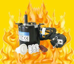 AC 230V, Grillmotor,Getriebemotor, 4,2 U/min, links- und rechtslauf, 6 Nm, NEU