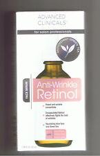 Advanced Clinicals Antioxidant Green Tea Anti Wrinkle RETINOL Face Serum