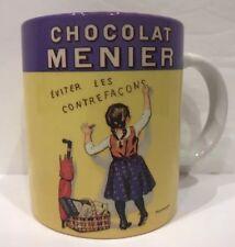 Vintage Chocolat Menier Fermin Bouisset Ceramic Mug Cup