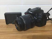 Nikon D D5100 16.2MP Fotocamera Reflex Digitale-Nero (Kit con VR 18-55 mm Lens)