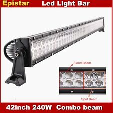 42inch 240W led light bar for cars offroad 4x4 combo beam Automotive lighting us