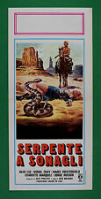 L55 LOCANDINA SERPENTE A SONAGLI GLEN LEE VIRGIL FRAY JAMES WESTERFIELD BOLANOS