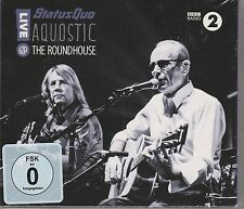 Aquostic: Live @ the Roundhouse by Status Quo 2 Cd`s + Dvd New and Sealed