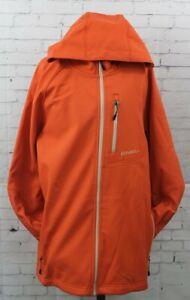 O'Neill Exile Softshell Jacket, Men's Medium, Burnt Ochre Orange New