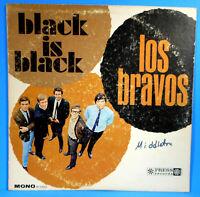 LOS BRAVOS BLACK IS BLACK LP 1966 MONO ORIGINAL PSYCH POP NICE CONDITION VG/VG!!