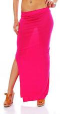 10527 Maxirock Stretch-Material Rock skirt  verfügbar in 14 Farben Gr. 34 36