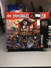 LAST ONE: LEGO Ninjago Temple of Resurrection Set (70643) Open Box, Sealed Bags