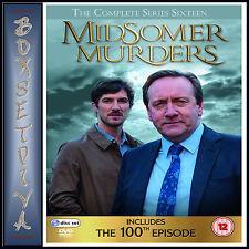 MIDSOMER MURDERS - COMPLETE SERIES 16  **BRAND NEW DVD ****