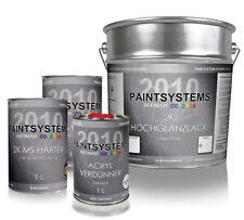 2K Acryl Autolack SET WUNSCHFARBE RAL hochglanz, 7L/4L + 2L + 1L