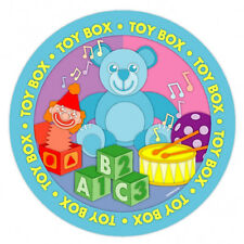 """8 Toy Box Teddy Bear Baby Shower Birthday Party 9"""" Disposable Paper Plates"""