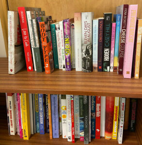 NEW ADULT FICTION & NON FICTION BOOKS job lot box of approximately 50 Book