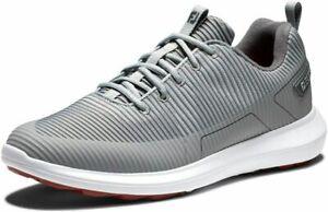 FootJoy Men's Fj Flex Xp Golf Shoes  12 Narrow, Grey