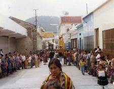 Photo. 1970s. Quetzaltenango, Guatemala. People at Religious Celebration