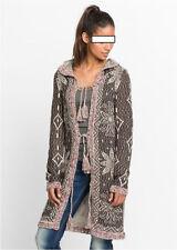 Damen-Pullover & -Strickware mit Kapuze alle Muster in Langgröße