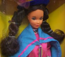 "Vintage 1985 ""Peruvian Barbie"" Dolls of the World #2995 NRFB"